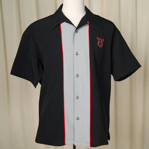 V8 Piped Bowling Shirt