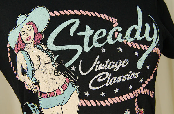 Vintage Cowgirl Classics T