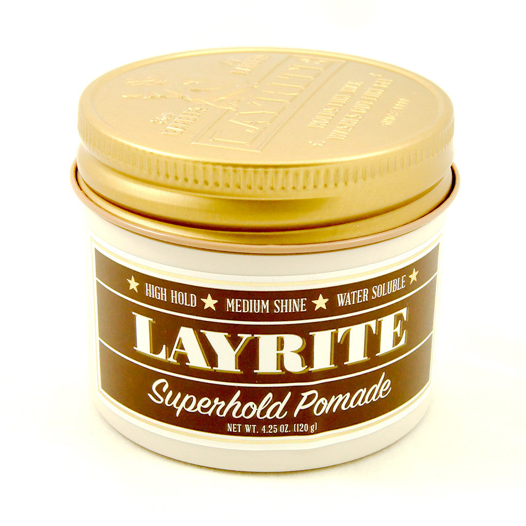 Hawleywoods Super Hold Layrite Hair Pomade (4oz) for sale at Cats Like Us - 1