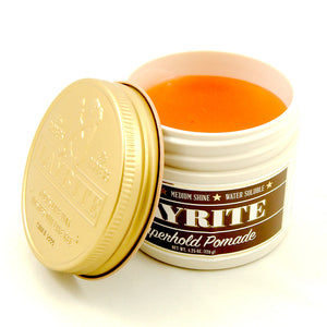 Super Hold Layrite Hair Pomade (4oz) by Hawleywoods