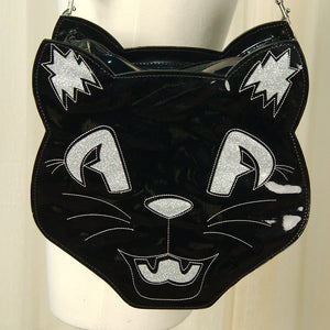 Black Cat Sweet Midnight Bag by Sweet Midnight : Cats Like Us