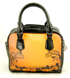 Sweet Midnight Trick or Treat Graveyard Purse