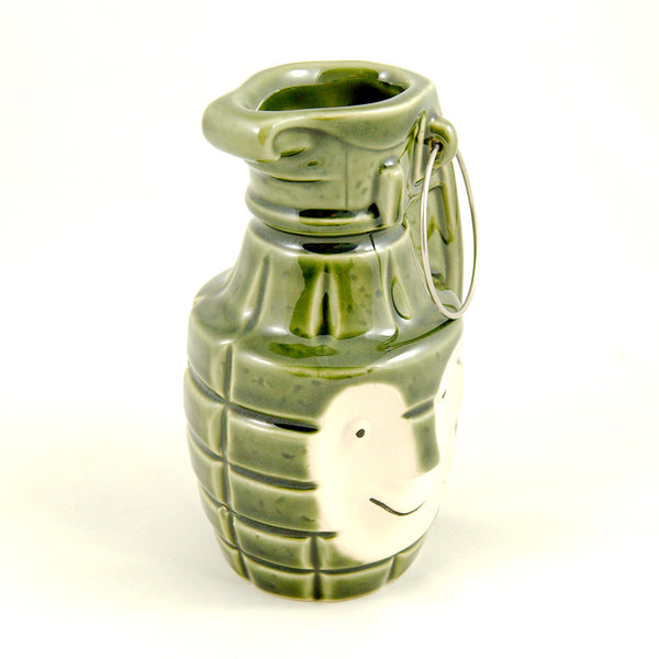 BoBomb Green Tiki Mug - Cats Like Us