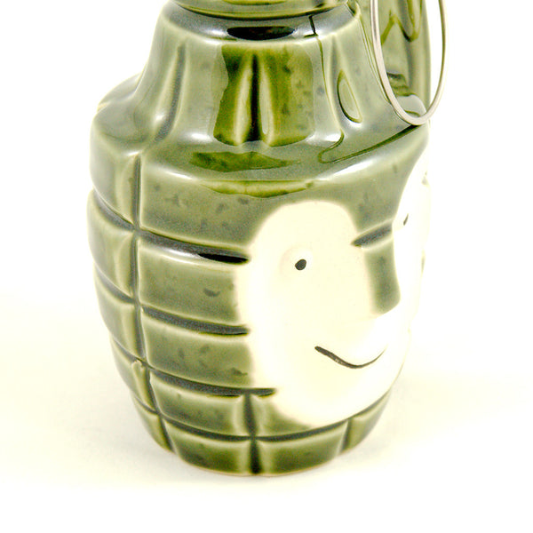 BoBomb Green Tiki Mug by Tiki Farm : Cats Like Us