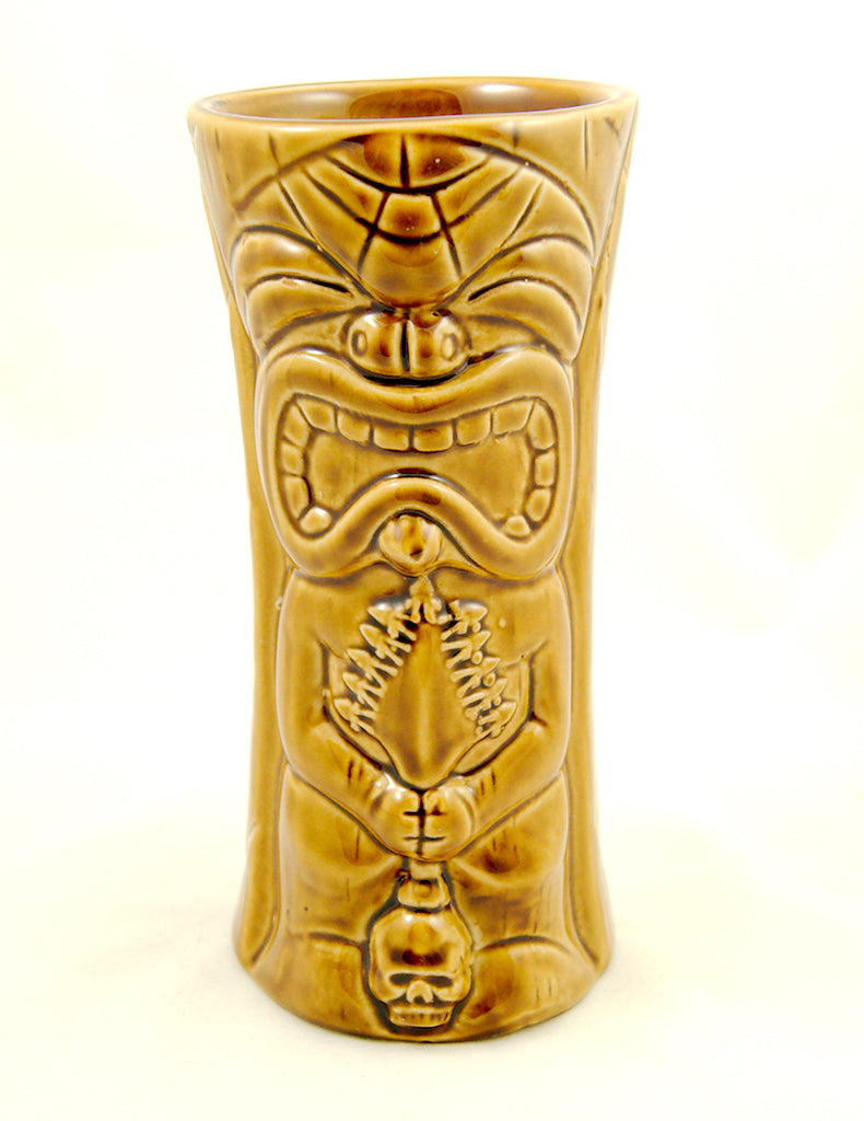 Brown Ku Kaili Moku Tiki Mug - Cats Like Us