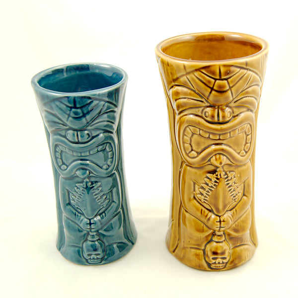 Brown Ku Kaili Moku Tiki Mug by Tiki Farm : Cats Like Us
