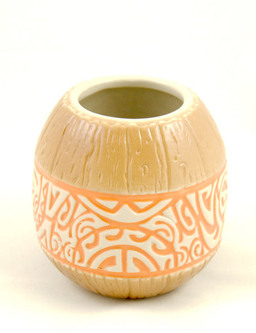 Orange Marqo- Coco Coconut Mug by Tiki Farm : Cats Like Us