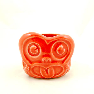Red Minky Monkey Tiki Mug - Cats Like Us