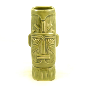 Satin Green Kon Tiki Mug by Tiki Farm : Cats Like Us