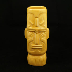 Yellow Glaze Kon Tiki Mug - Cats Like Us