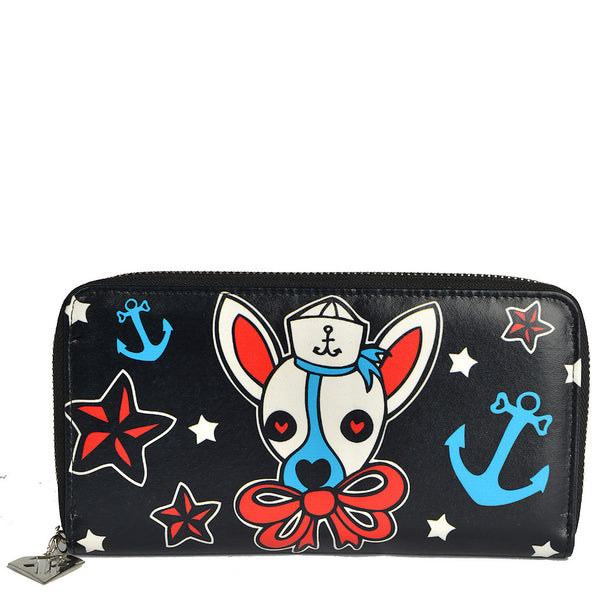 Ahoy Sailor Duchess Dog Wallet by Too Fast Brand - Cats Like Us