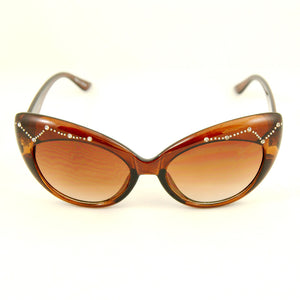 Brown Constellation Sunglasses by Trio : Cats Like Us