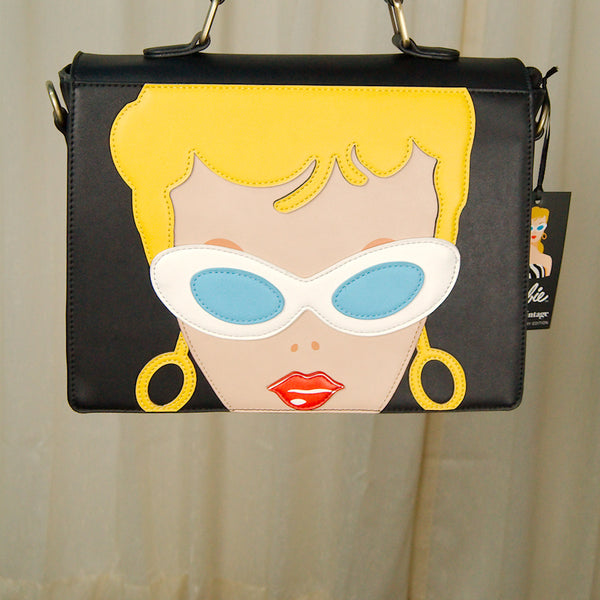 Barbie Doll Face Handbag by Unique Vintage - Cats Like Us