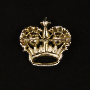 Crown Jewel Brooch Pin by Vintage Collection by Cats Like Us : Cats Like Us