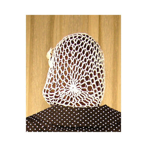 White Hair Net Snood
