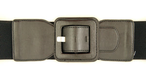 Black Square Cinch Belt - Cats Like Us