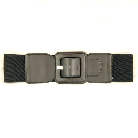 Black Square Cinch Belt by Viva Dulce Marina : Cats Like Us