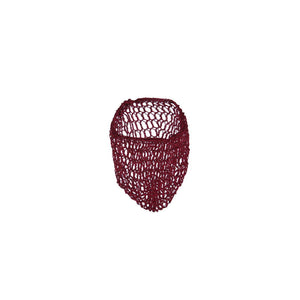 Burgundy Hair Net Snood - Cats Like Us