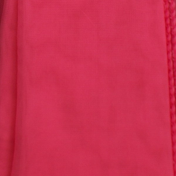 Hot Pink 50s Neck Scarf