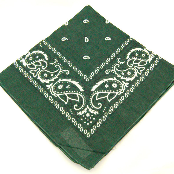 Hunter Green Bandana by Viva Dulce Marina : Cats Like Us