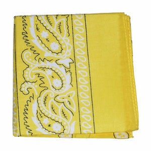 Lemon Yellow Bandana by Viva Dulce Marina : Cats Like Us