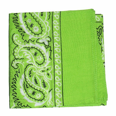 Lime Green Bandana - Cats Like Us