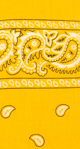 Mustard Yellow Bandana by Viva Dulce Marina : Cats Like Us