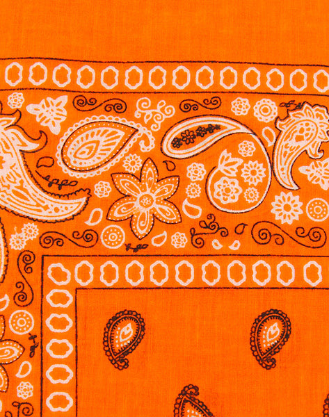 Viva Dulce Marina Orange Bandana for sale at Cats Like Us - 2