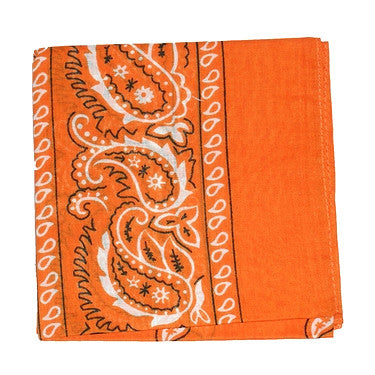 Viva Dulce Marina Orange Bandana for sale at Cats Like Us - 1