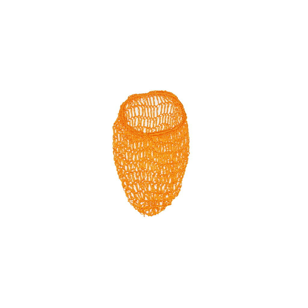 Orange Yellow Hair Net Snood by Viva Dulce Marina : Cats Like Us