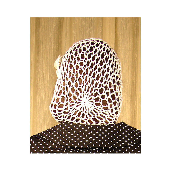 Viva Dulce Marina Orange Yellow Hair Net Snood for sale at Cats Like Us - 3