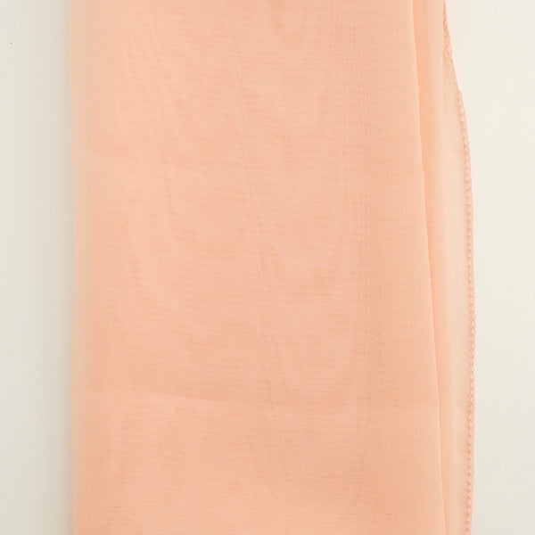 Peach 50s Neck Scarf