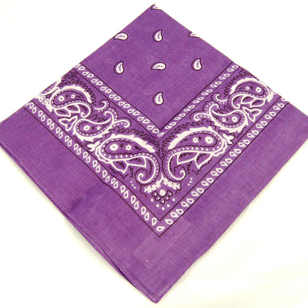Viva Dulce Marina Purple Bandana for sale at Cats Like Us - 2