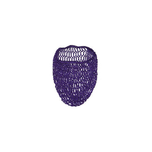 Purple Hair Net Snood by Viva Dulce Marina : Cats Like Us