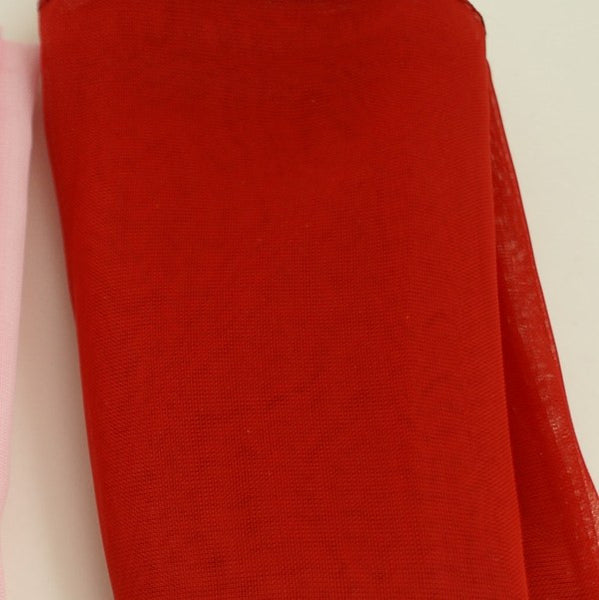 Red 50s Neck Scarf