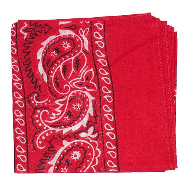 Viva Dulce Marina Red Bandana for sale at Cats Like Us - 2