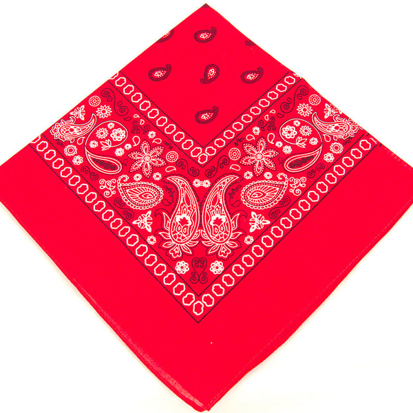 Viva Dulce Marina Red Bandana for sale at Cats Like Us - 3