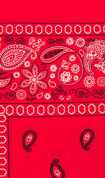 Viva Dulce Marina Red Bandana for sale at Cats Like Us - 1