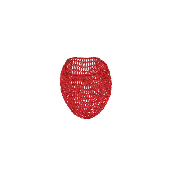 Red Hair Net Snood by Viva Dulce Marina
