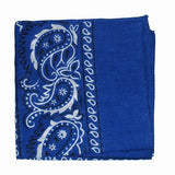 Viva Dulce Marina Royal Blue Bandana for sale at Cats Like Us - 2