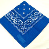 Viva Dulce Marina Royal Blue Bandana for sale at Cats Like Us - 3