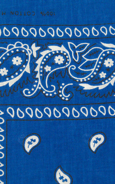 Viva Dulce Marina Royal Blue Bandana for sale at Cats Like Us - 1