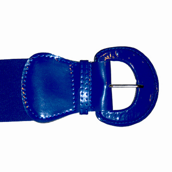 Viva Dulce Marina Royal Blue Elastic Cinch Belt for sale at Cats Like Us - 4