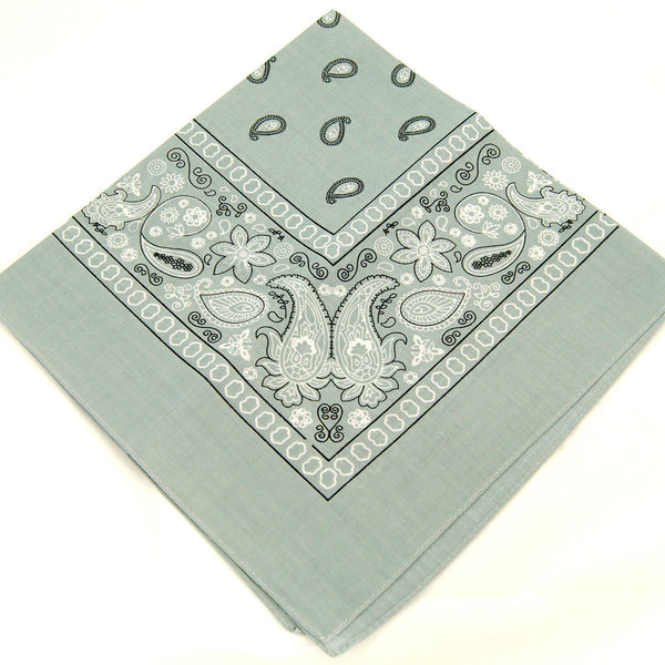 Viva Dulce Marina Silver Gray Bandana for sale at Cats Like Us - 3