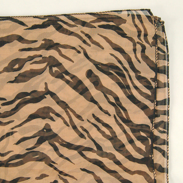 Viva Dulce Marina Tiger 50s Neck Scarf for sale at Cats Like Us - 3