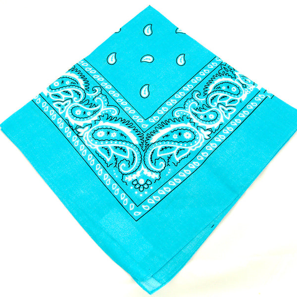 Turquoise Bandana by Viva Dulce Marina : Cats Like Us