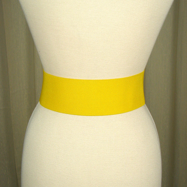 Viva Dulce Marina Yellow Patent Cinch Belt for sale at Cats Like Us - 3