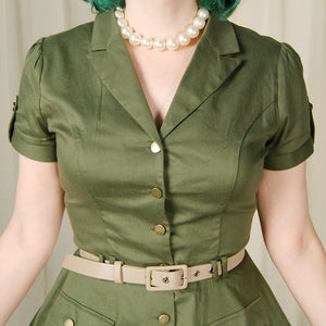 Army Shirt Dress