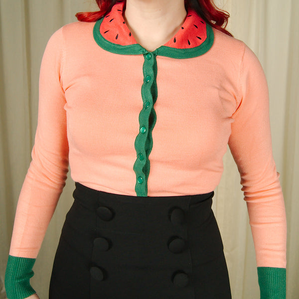 Baby Watermelon Cardigan by VooDoo Vixen - Cats Like Us
