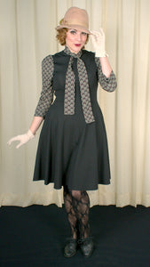 Bettie Art Deco Tie Dress